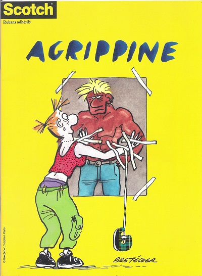 Agrippine Album broché paru en 2000 pour Scotch