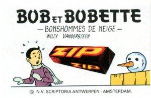 BOB27   1er plat