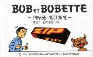 BOB25   1er plat